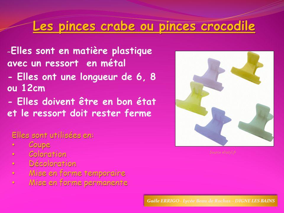 Les pinces crabe ou pinces crocodile