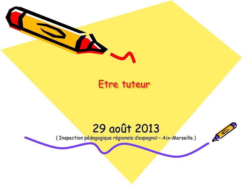 ( Inspection pédagogique régionale d'espagnol – Aix-Marseille )