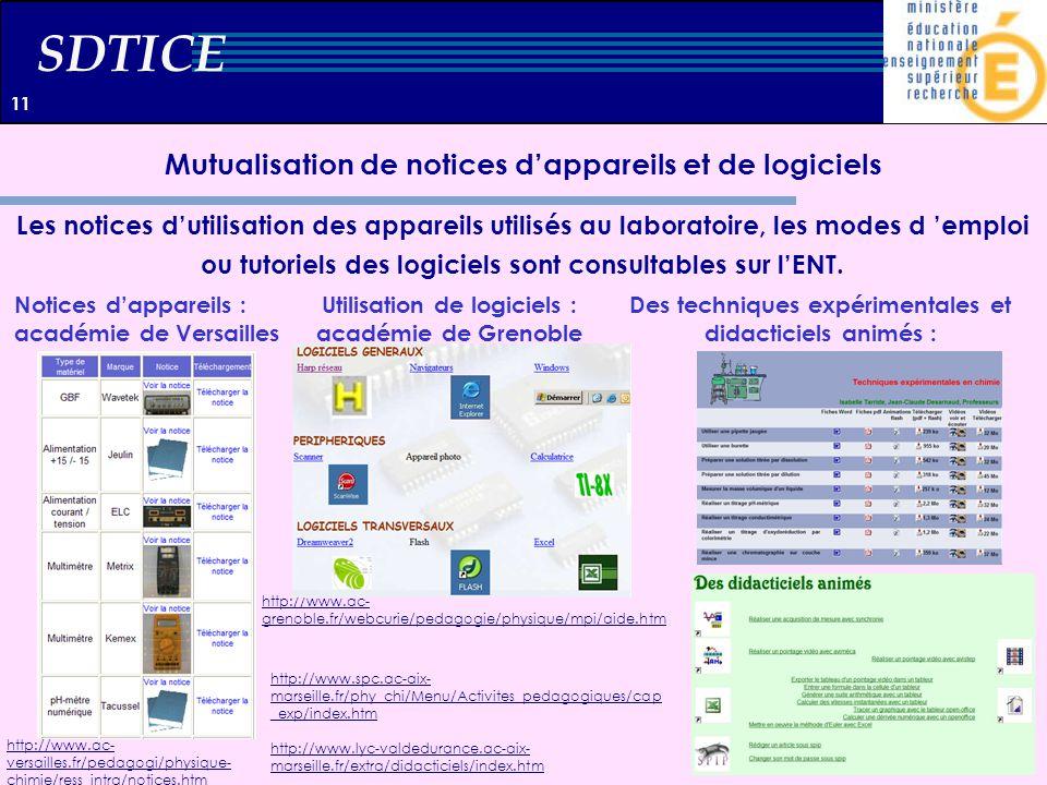 Mutualisation de notices d'appareils et de logiciels