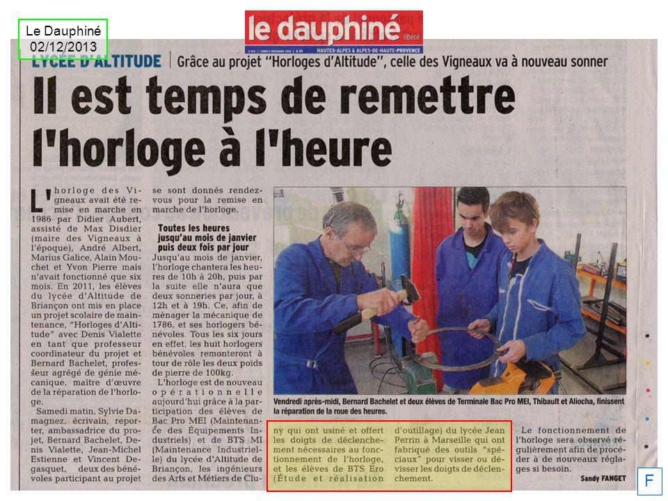 Le Dauphiné 02/12/2013 F
