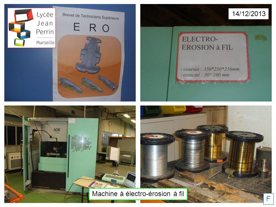 Machine à électro-érosion à fil