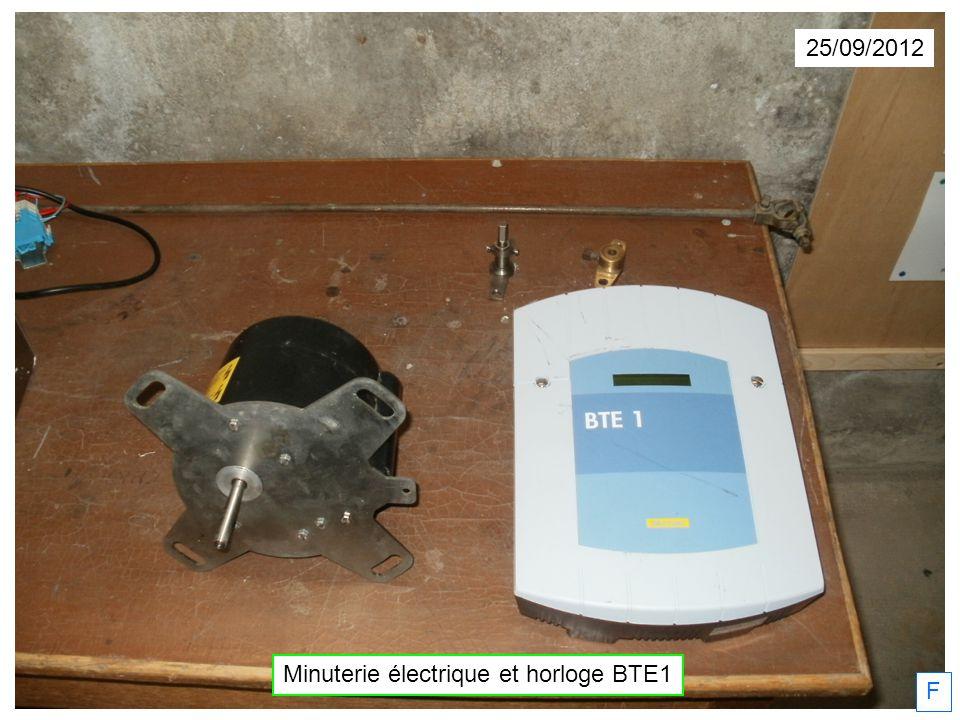 Minuterie électrique et horloge BTE1