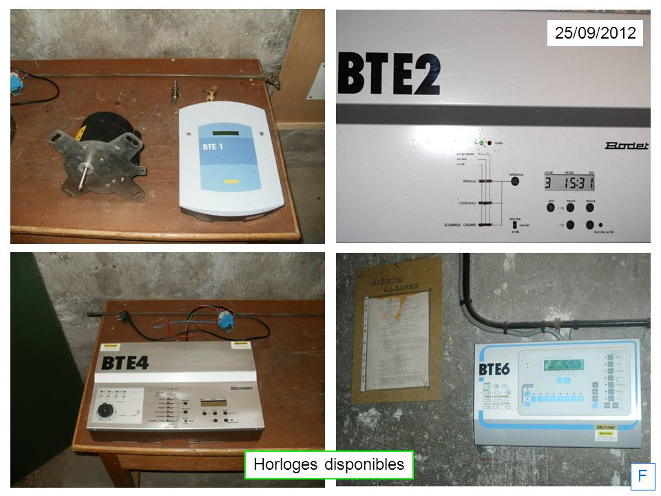 25/09/2012 Horloges disponibles F