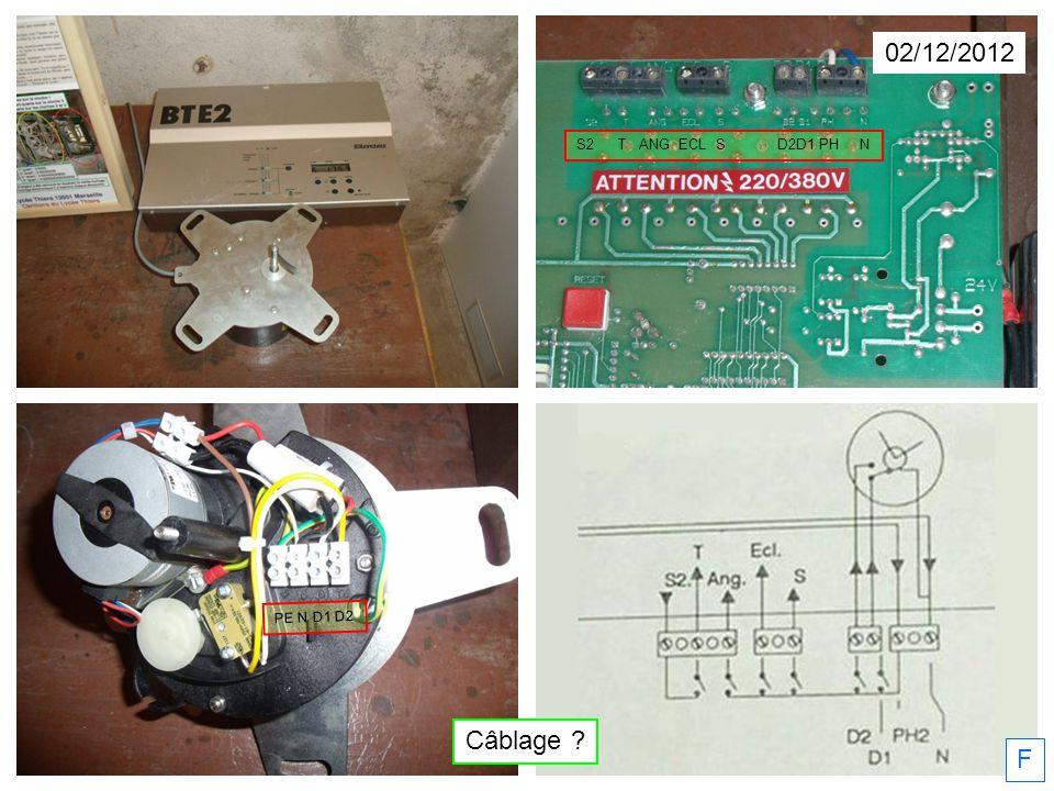 02/12/2012 S2 T ANG ECL S D2D1 PH N PE N D1 D2 Câblage F