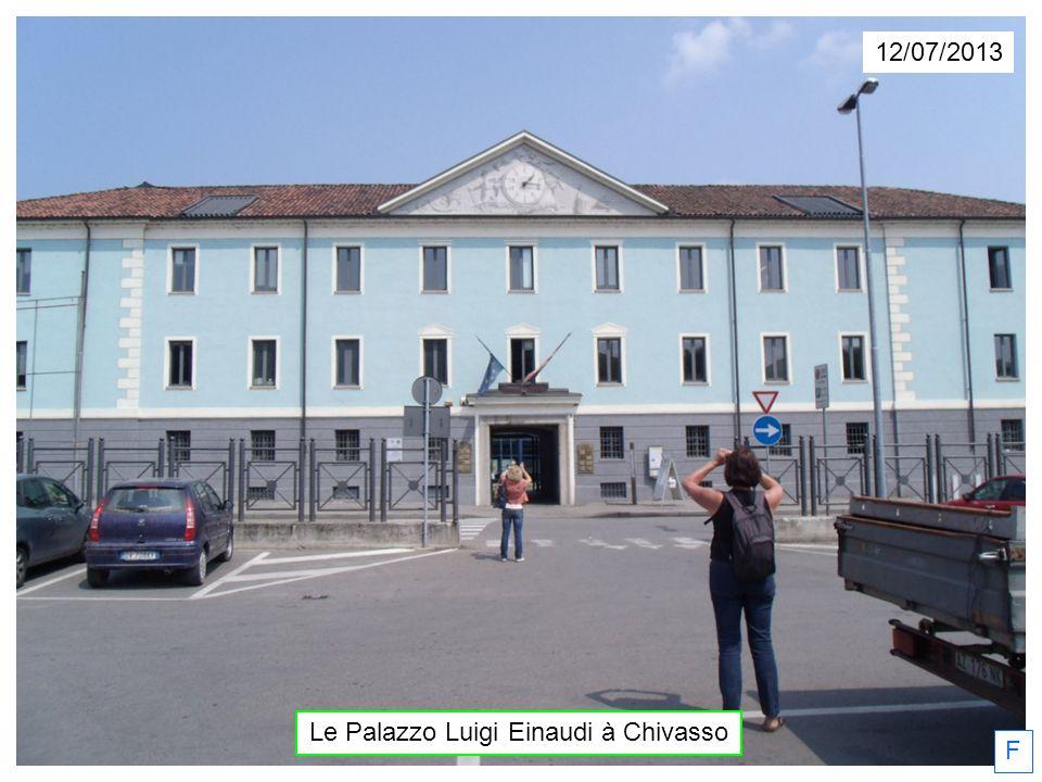 Le Palazzo Luigi Einaudi à Chivasso