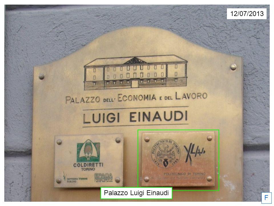 12/07/2013 Palazzo Luigi Einaudi F
