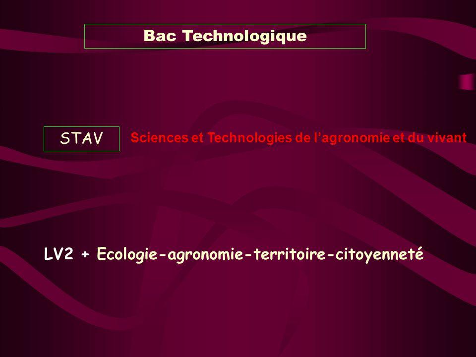 LV2 + Ecologie-agronomie-territoire-citoyenneté