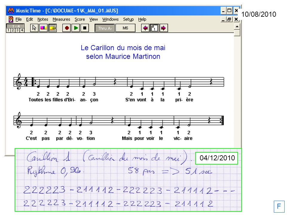 Le Carillon du mois de mai selon Maurice Martinon