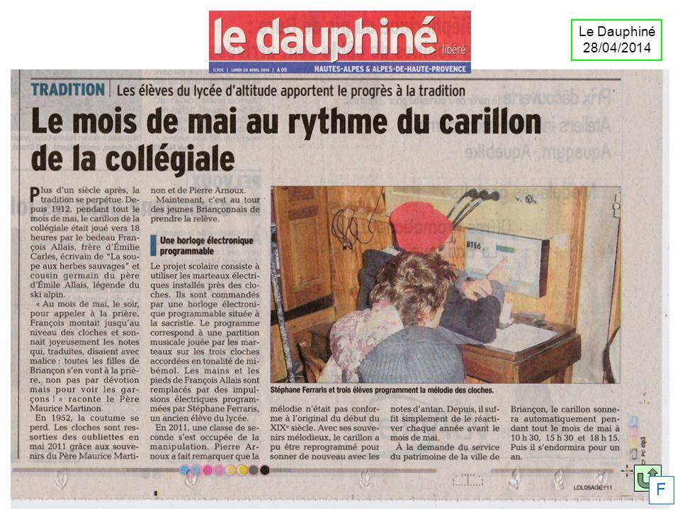 Le Dauphiné 28/04/2014 F
