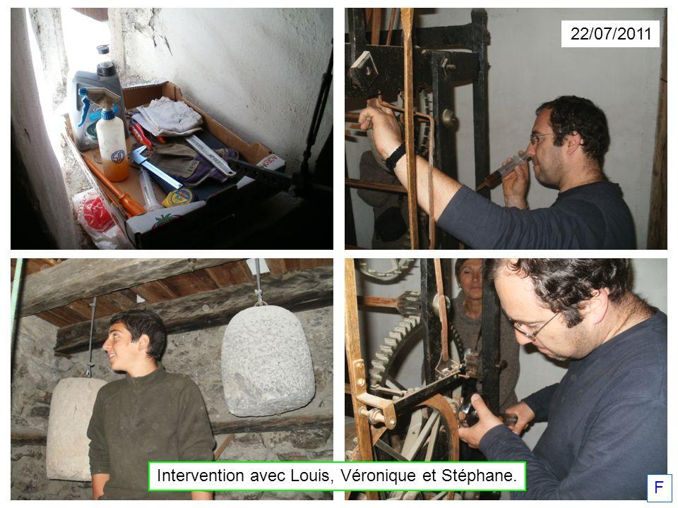 Intervention avec Louis, Véronique et Stéphane.