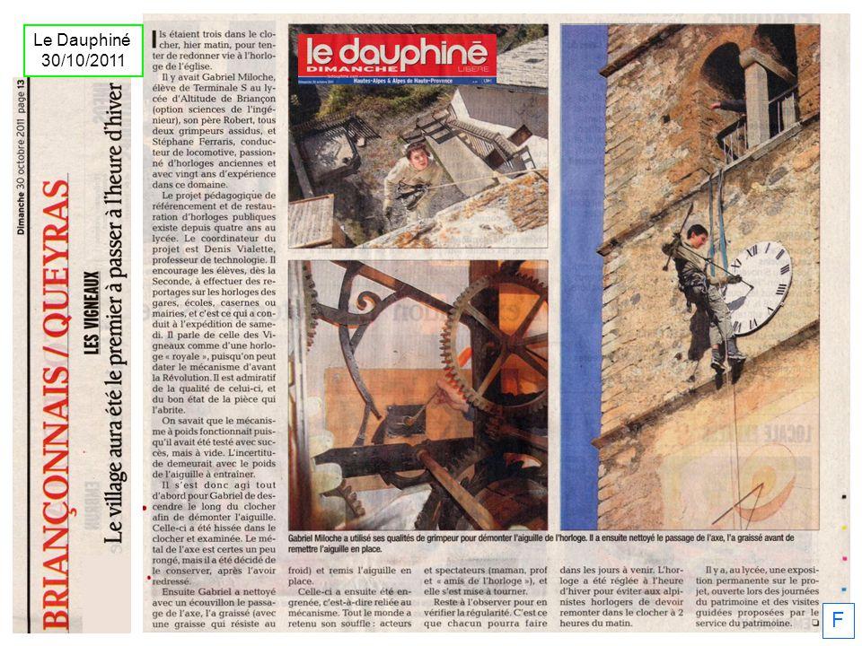 Le Dauphiné 30/10/2011 F