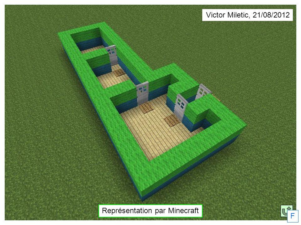 Représentation par Minecraft