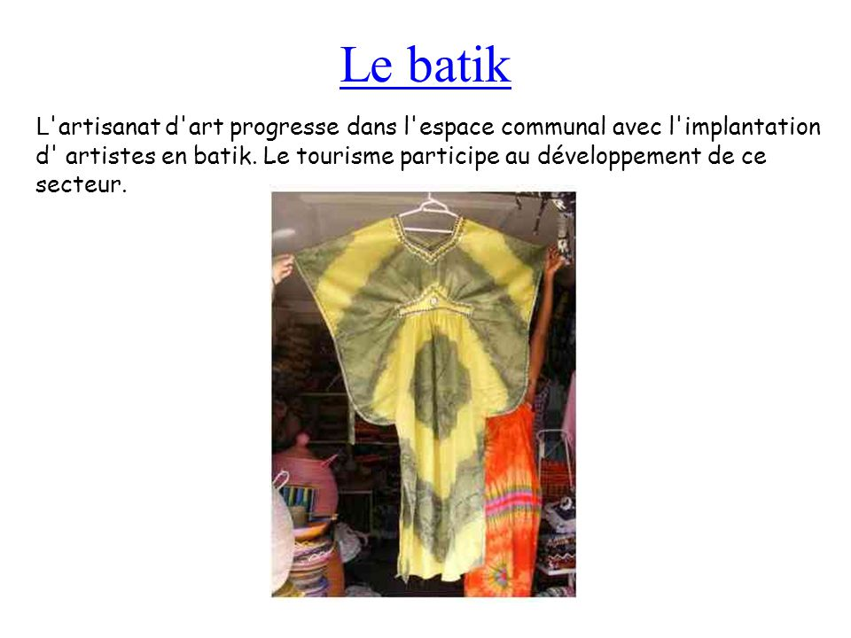Le batik