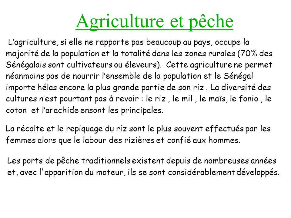 Agriculture et pêche