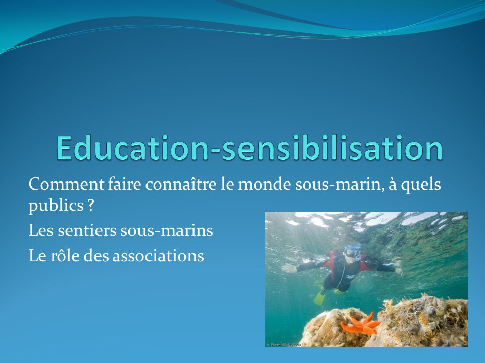 Education-sensibilisation