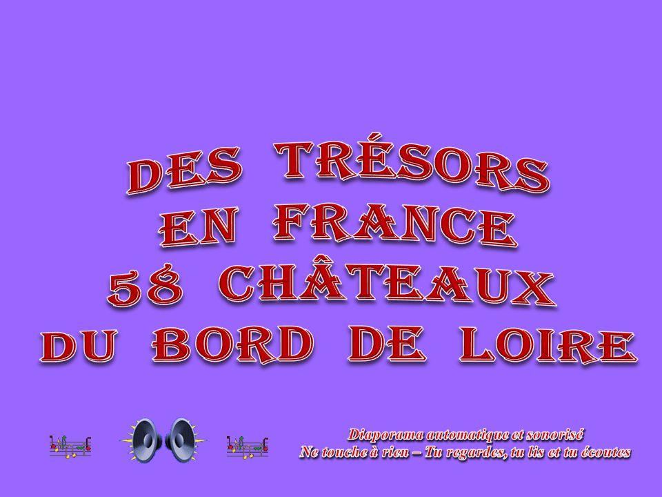 Des trésors En France 58 châteaux Du bord De Loire
