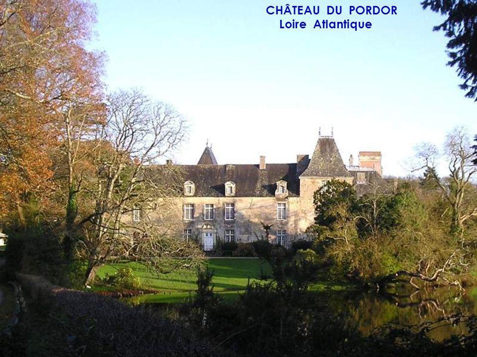 CHÂTEAU DU PORDOR Loire Atlantique