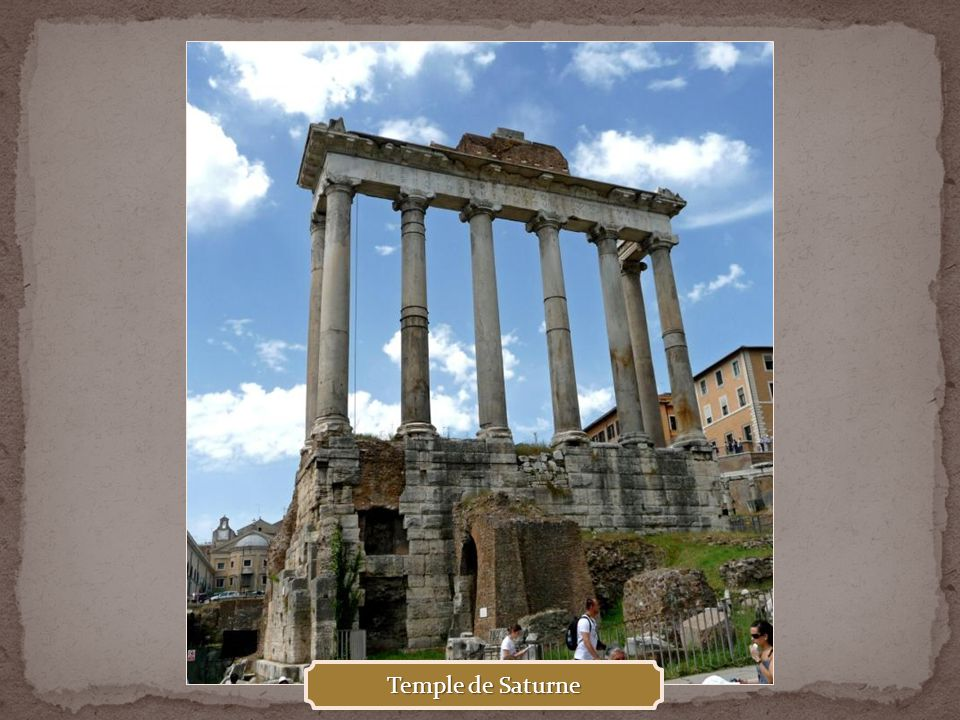Temple de Saturne