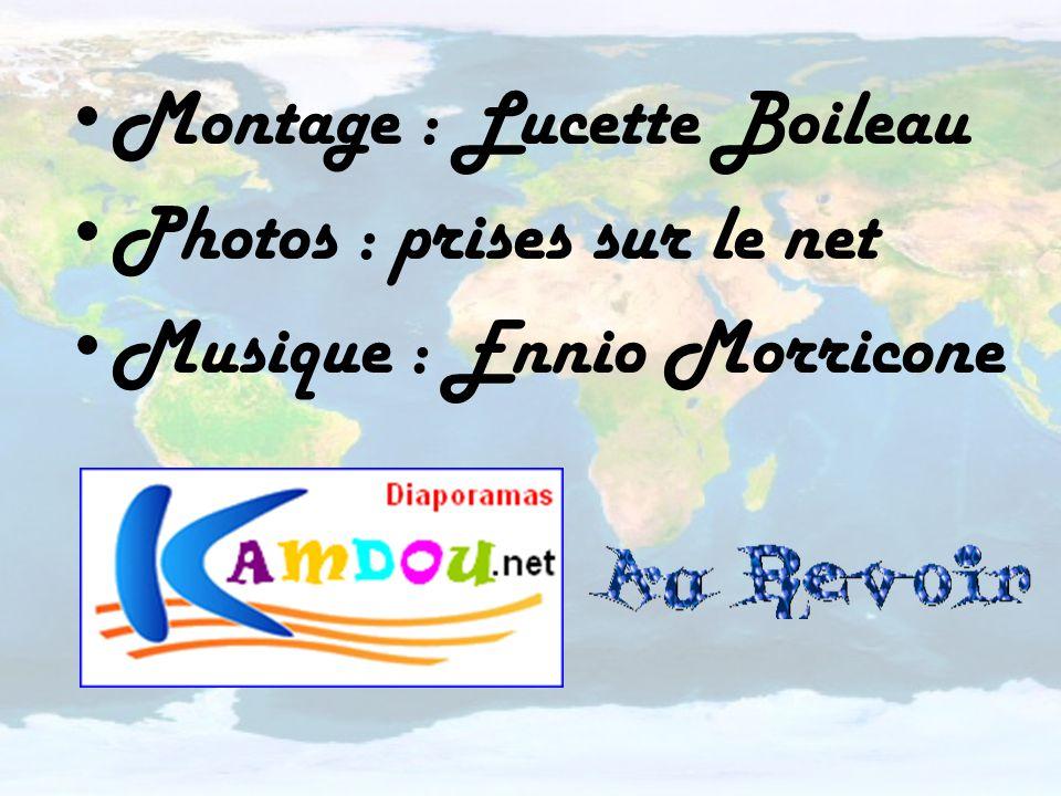 Montage : Lucette Boileau