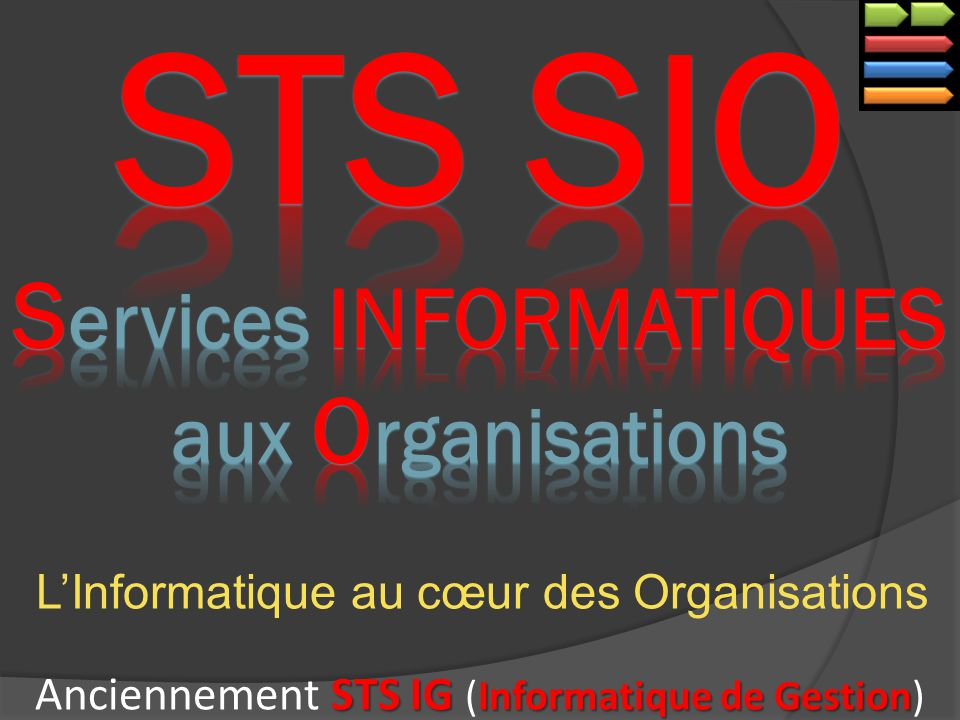 STS SIO Services INFORMATIQUES aux Organisations