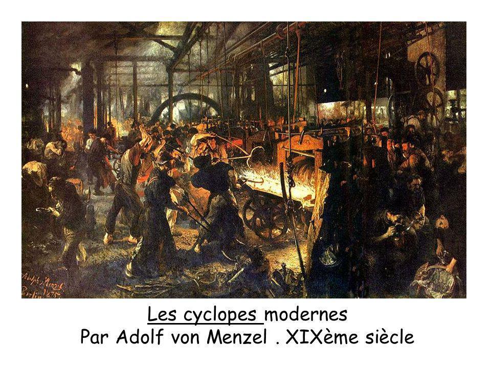 Par Adolf von Menzel . XIXème siècle