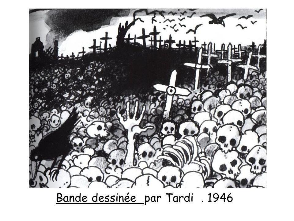Bande dessinée par Tardi . 1946