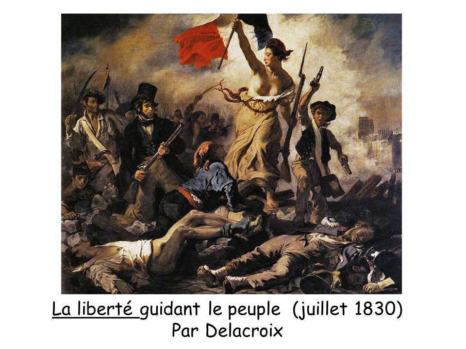 La liberté guidant le peuple (juillet 1830)