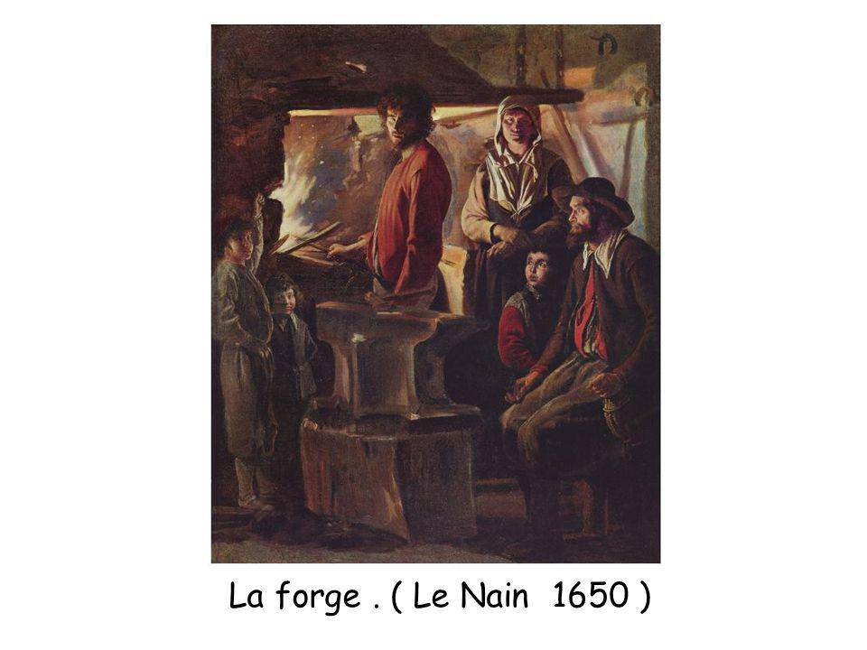 La forge . ( Le Nain 1650 )