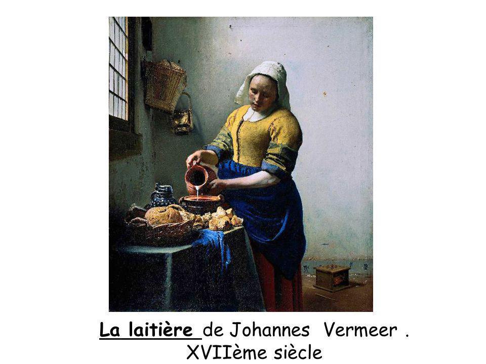 La laitière de Johannes Vermeer .
