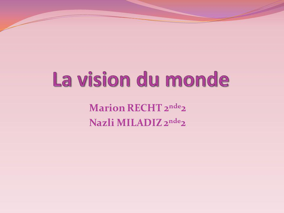 Marion RECHT 2nde2 Nazli MILADIZ 2nde2