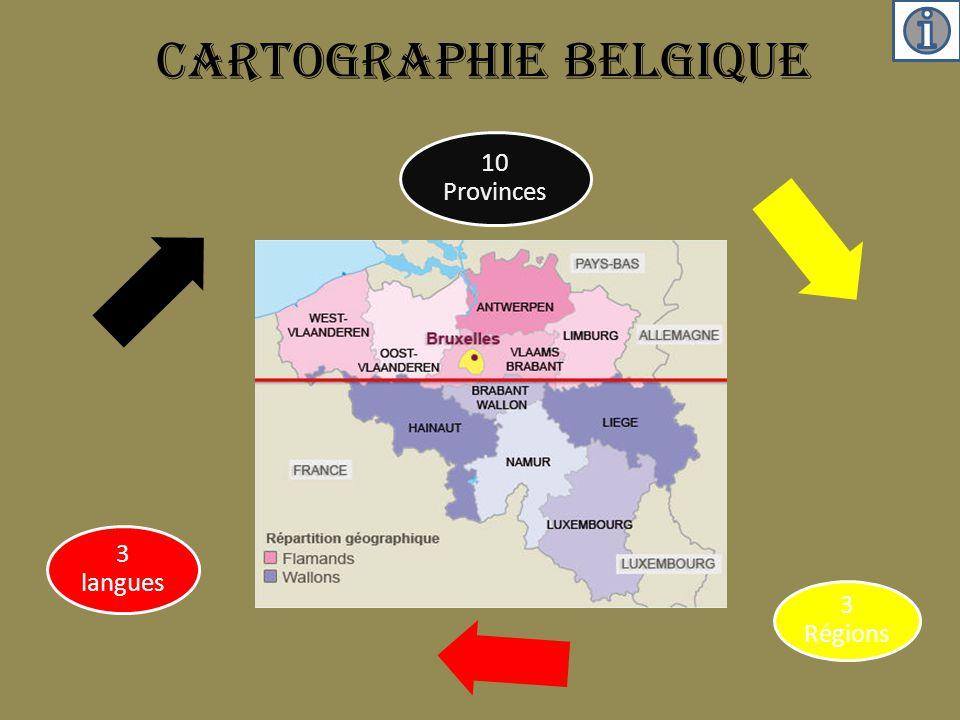 Cartographie Belgique