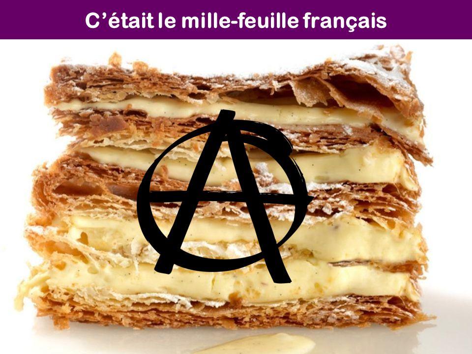 C'était le mille-feuille français