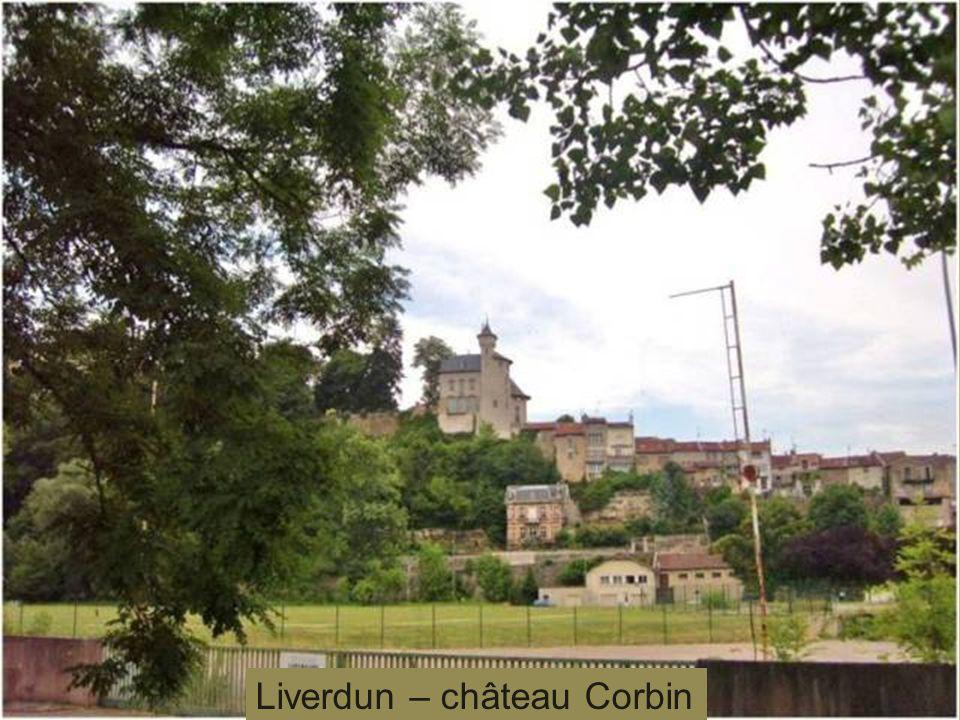 Liverdun – château Corbin