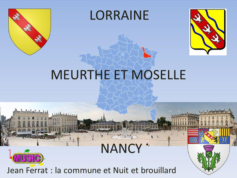 LORRAINE MEURTHE ET MOSELLE NANCY