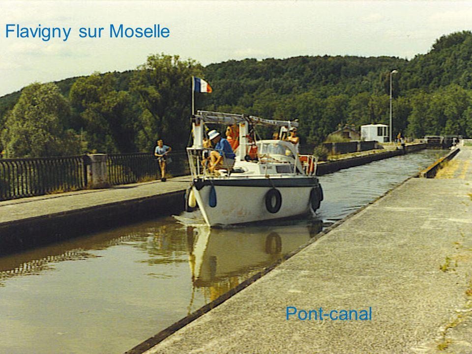 Flavigny sur Moselle Pont-canal