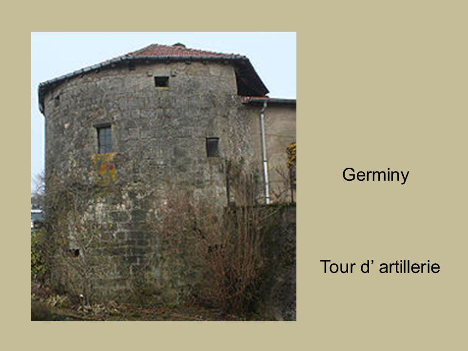 Germiny Tour d' artillerie