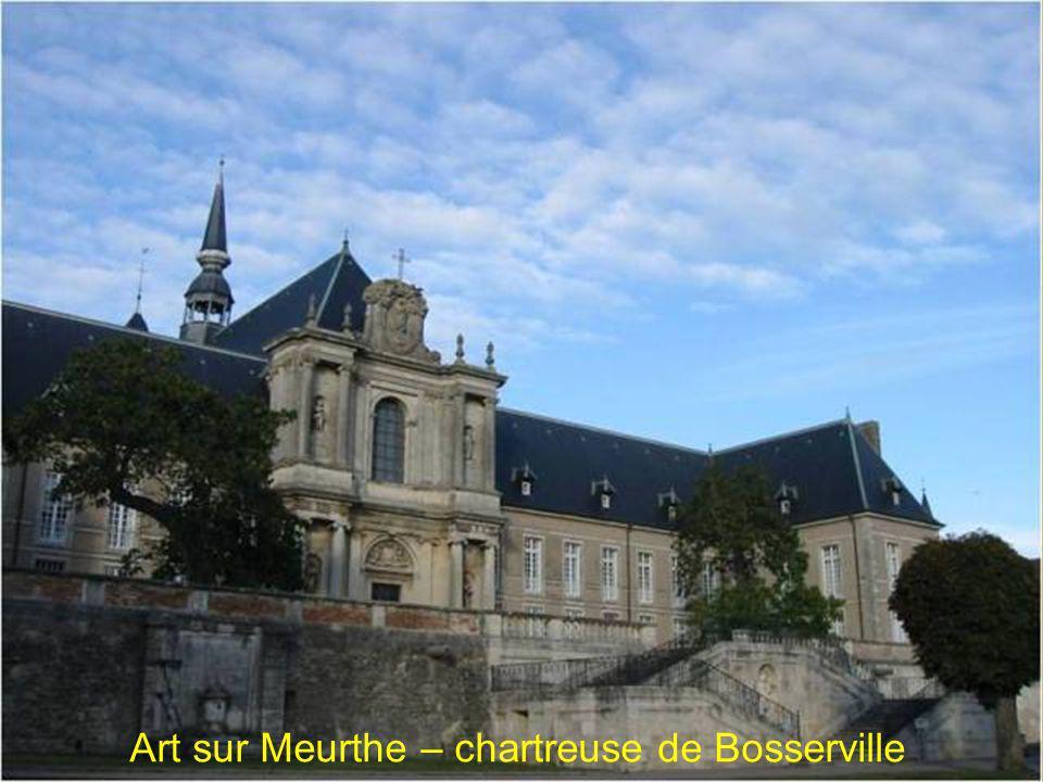 Art sur Meurthe – chartreuse de Bosserville