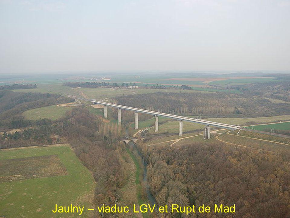 Jaulny – viaduc LGV et Rupt de Mad