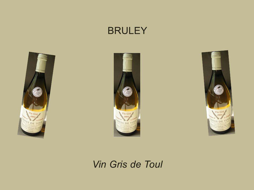 BRULEY Vin Gris de Toul