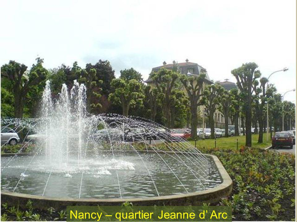 Nancy – quartier Jeanne d' Arc
