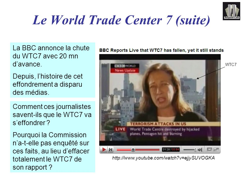 Le World Trade Center 7 (suite)