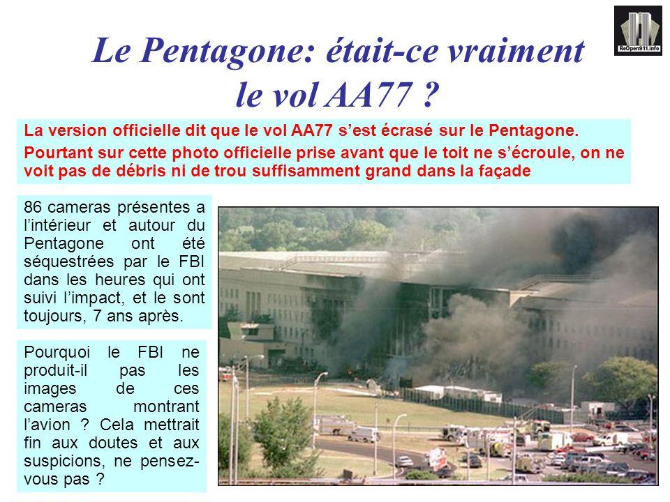 Le Pentagone: était-ce vraiment le vol AA77