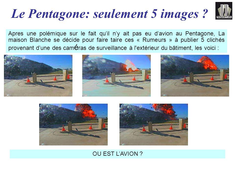 Le Pentagone: seulement 5 images