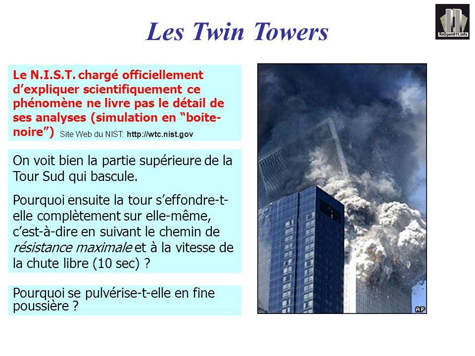 Site Web du NIST: http://wtc.nist.gov