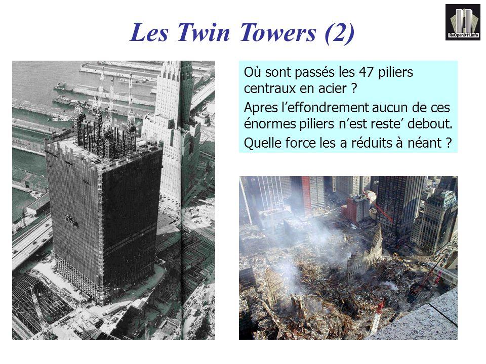 Les Twin Towers (2) Où sont passés les 47 piliers centraux en acier