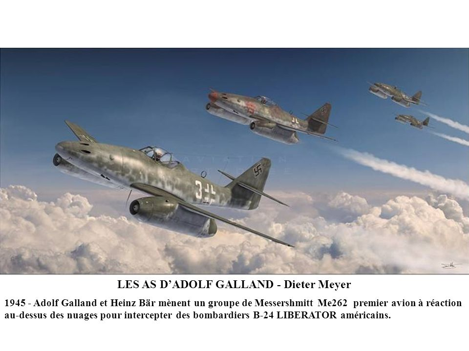 LES AS D'ADOLF GALLAND - Dieter Meyer