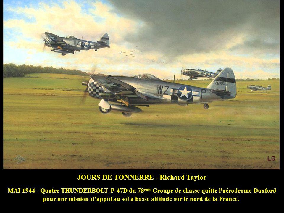 JOURS DE TONNERRE - Richard Taylor