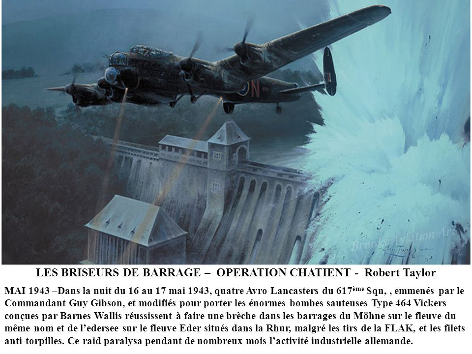 LES BRISEURS DE BARRAGE – OPERATION CHATIENT - Robert Taylor