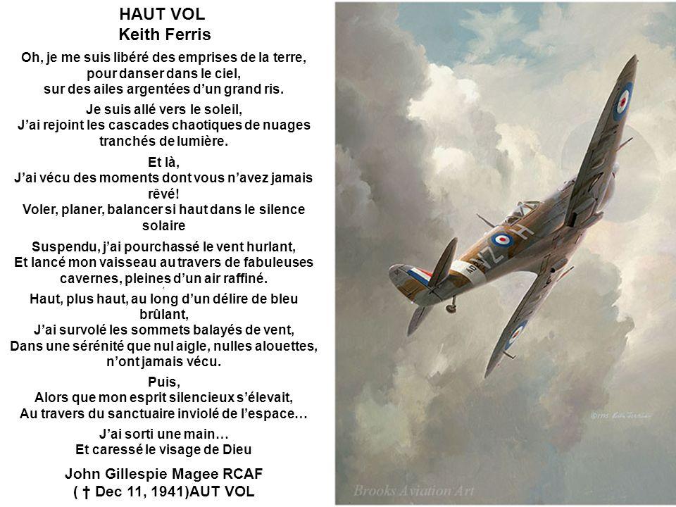 HAUT VOL Keith Ferris John Gillespie Magee RCAF