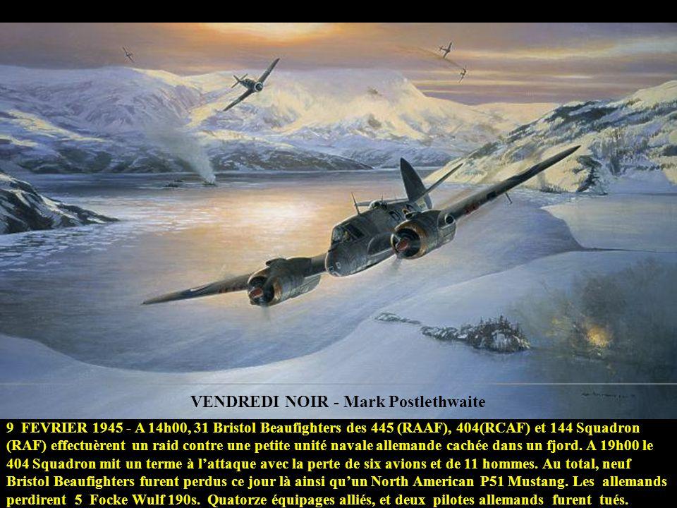 VENDREDI NOIR - Mark Postlethwaite